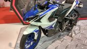 Bajaj Pulsar RS200 Blue front three quarter left