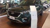 Brazil-spec Hyundai Creta front in showrooms