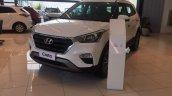 Brazil-spec Hyundai Creta front quarter in showrooms