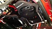 Custom Maruti Baleno bucket seat with Lambo-style doors
