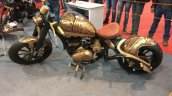 Customised Royal Enfield at APS 2017 side left