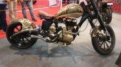 Customised Royal Enfield at APS 2017 side right