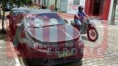 Fiat X6H front three quarters spy shot Brazil