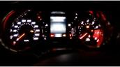 Fiat X6H instrument panel spy shot