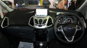 Ford EcoSport Platinum Edition dashboard at Surat International Auto Expo 2017