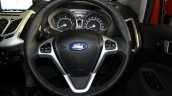 Ford EcoSport Platinum Edition steering wheel at Surat International Auto Expo 2017