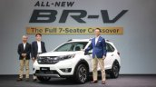 Honda BR-V front three quarters left side Malaysia launch
