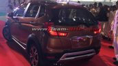 Honda WR-V rear snapped in Honda India plant