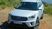 Hyundai Creta 1.6 Petrol Automatic front quarter Review