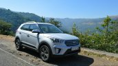 Hyundai Creta 1.6 Petrol Automatic front three quarter Review