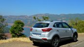 Hyundai Creta 1.6 Petrol Automatic rear three quarter Review