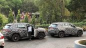 India-spec Jeep Compass side spied