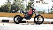 KTM 390 Enduro customised MotoExotica India side