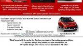 Mahindra KUV100 features