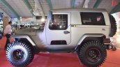 Mahindra Thar Daybreak Edition with solid roof profile at Surat International Auto Expo 2017