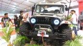 Mahindra Thar Daybreak edition front at Autocar Performance Show 2017