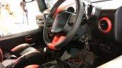Mahindra Thar Daybreak edition interior Autocar Performance Show 2017