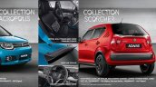 Maruti Ignis accessories accessory packages