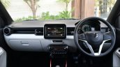 Maruti Ignis dashboard First Drive Review