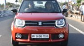 Maruti Ignis front on road First Drive Review