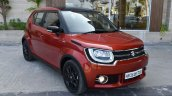 Maruti Ignis front quarter First Drive Review