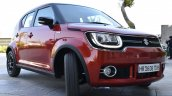 Maruti Ignis front quarter toe out First Drive Review