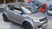 Maruti Ignis glistening grey First Drive Review