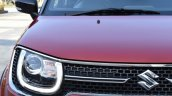 Maruti Ignis grille First Drive Review