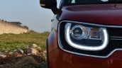 Maruti Ignis headlamp First Drive Review