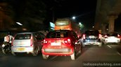 Maruti Ignis in traffic First Drive Review