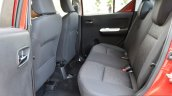 Maruti Ignis rear cabin First Drive Review