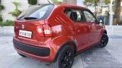 Maruti Ignis rear three quarter First Drive Review