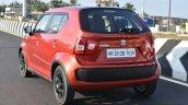 Maruti Ignis rear three quarter dynamic First Drive Review