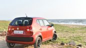 Maruti Ignis rear three quarter far First Drive Review