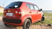 Maruti Ignis rear three quarter toe out First Drive Review