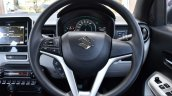 Maruti Ignis steering wheel First Drive Review