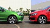 Mercedes A-Class Night Edition and Mercedes B-Class Night Edition profile