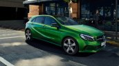 Mercedes A-Class Night Edition front three quarters