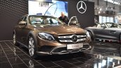 Mercedes E-Class All-Terrain front three quarters right side at 2017 Vienna Auto Show
