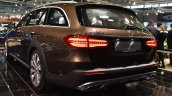 Mercedes E-Class All-Terrain rear three quarters at 2017 Vienna Auto Show
