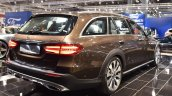 Mercedes E-Class All-Terrain rear three quarters right side at 2017 Vienna Auto Show