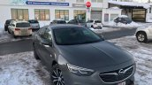 Opel Insignia Grand Sport front three quarters spy shot