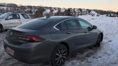 Opel Insignia Grand Sport rear three quarters spy shot
