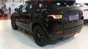Range Rover Evoque rear three quarter at Autocar Performance Show 2017