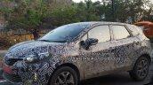 Renault Captur (Kaptur) SUV front three quarter spied up close