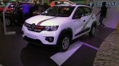 Renault Kwid Live For More Edition front three quarters at APS 2017