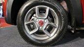 Renault Kwid (accessorised) alloy wheel at Surat International Auto Expo 2017