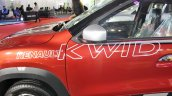 Renault Kwid (accessorised) body graphics at Surat International Auto Expo 2017