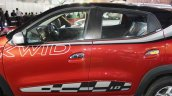 Renault Kwid (accessorised) door panels at Surat International Auto Expo 2017
