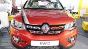 Renault Kwid (accessorised) front at Surat International Auto Expo 2017